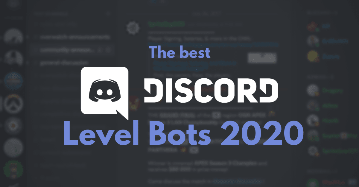 The best Discord level bots in 2021