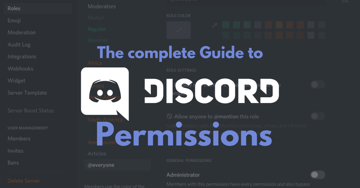 The complete guide to Discord's Permission System
